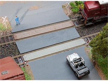 Faller 180969 2 Gleisübergänge HO