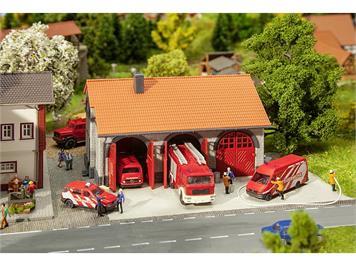Faller 222209 Feuerwehrgerätehaus N