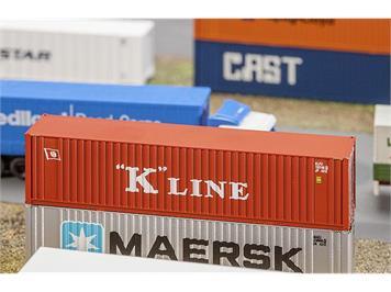 """Faller 272820 40' Hi-CubeContainer """"K-Line"""" N"""