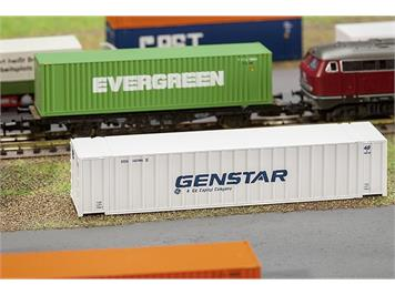 """Faller 272840 40' Rib-Side Container """"GENST"""" N"""