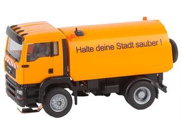Faller CSYS 161482 LKW MAN TGA Strassenkehrmaschine HO