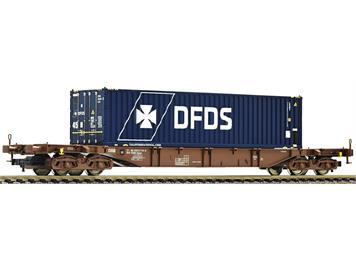 Fleischmann 524108 Containertragwagen Sgns DSB