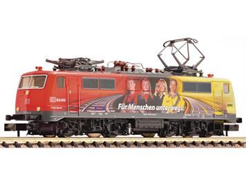 """Fleischmann 781381 Elektrolokomotive 111 024-8 DB AG """"ADAC"""" DCC/dig."""
