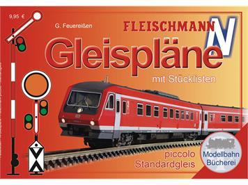 Fleischmann 81399 Gleispläne piccolo N