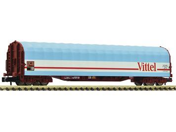 """Fleischmann 837711 Schiebeplanenwagen """"Vittel"""", SNCF, N"""