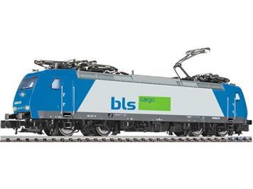 Fleischmann 877386 E-Lok BLS BR 185, Mietlok Angel Trains Cargo blau/silber lim.