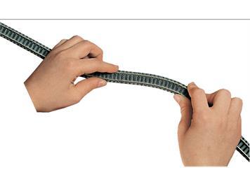 Fleischmann 9106 flexibles Gleis, Länge 777 mm, N