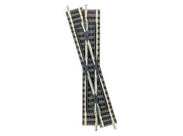 Fleischmann 9162 Kreuzung 15°, Länge 111 mm Linkskreuzend