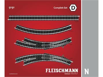 Fleischmann 9191 Complett-Set D, Spur N