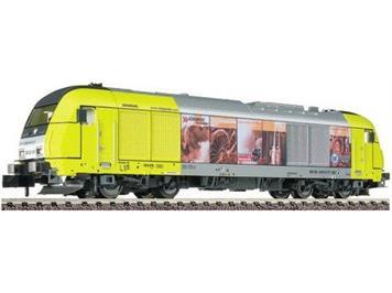 """Fleischmann Diesellok BR ER 20 """"Siemens"""" - Ser.Nr. 0457 Lim. SOSE"""