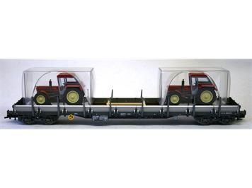 Fleischmann Flachwagen mit Alu-Seitenborden bel. SBB