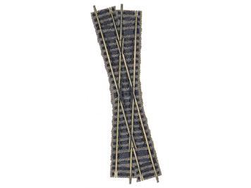 Fleischmann Kreuzung 18°, linkskreuzend, Länge 200 mm