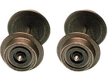 Fleischmann Radsatz 6 mm einseitig isoliert N