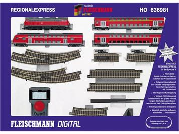 Fleischmann Start-Set Reg.Express DCC