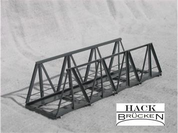 HACK 40050 Z Vorflutbrücke 7,5 cm VZ7 Fertigmodell aus Weissblech