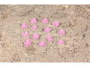 HEKI 1825 100 Grasbüschel 5 - 6 mm Lavendel