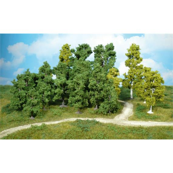 Heki 1951 14 Bäume sortiert 5 - 12 cm
