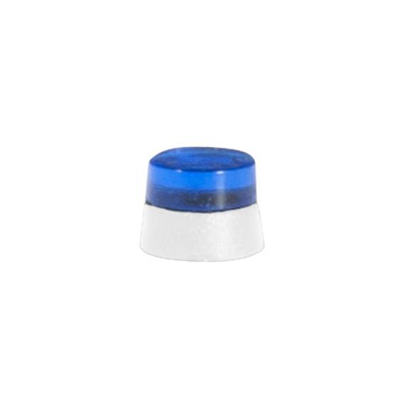 Herpa 053570 flache Rundumleuchten LKW blautransparent HO
