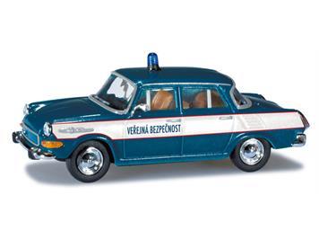 """Herpa 090209 Skoda 1000MB """"Polizei CZ"""""""