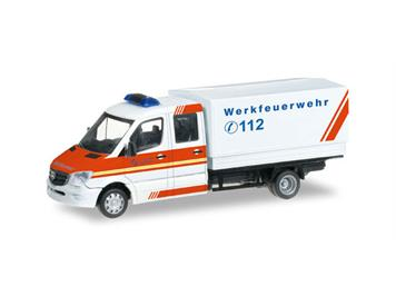 """Herpa 091954 MB Sprinter """"WerksFW Salzgitter"""" HO"""