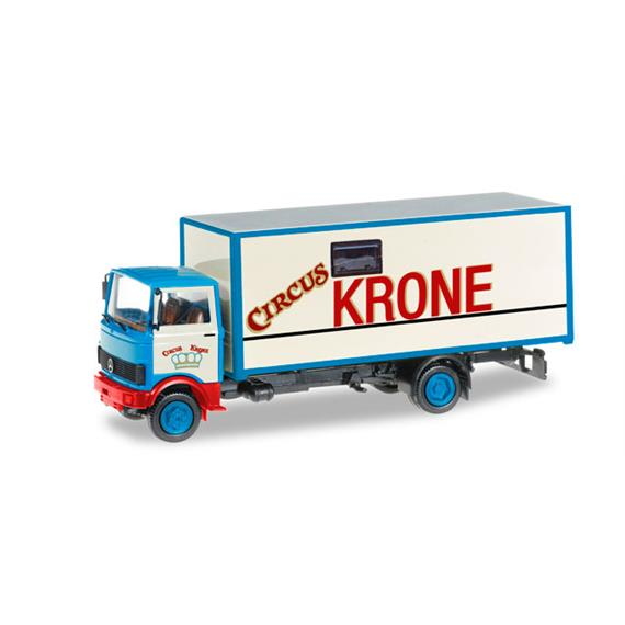 "Herpa 304078 Mercedes-Benz 813 Koffer-LKW ""Circus Krone"" HO"