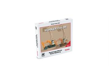 "Herpa 371018 Color-Set ""Worker"""