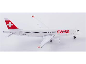 Herpa 532877 A220-300 Swiss Air Lines 1:500