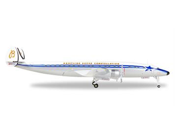 Herpa 558488 SCFA / Breitling Lockheed L-1049H Super Constellation - HB-RSC 1:200
