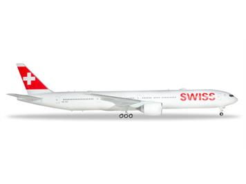 Herpa 559317 Swiss International Air Lines Boeing 777-300ER Reg. HB-JNC 1:200