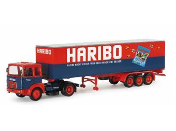 "Herpa MAN F8 Koffer-Sattelzug ""Haribo"""