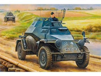 Hobby Boss 80149 German Leichter Panzerspahwagen (2cm) Mid Version Maßstab 1:35