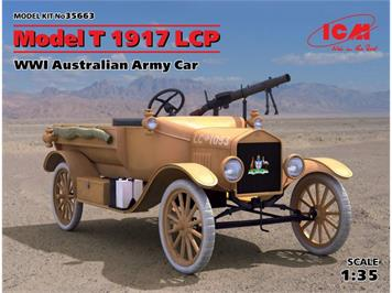 ICM 35663 Model T 1917 LCP, WWI Australian Army Car · ICM · 1:35