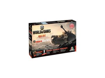 Italeri 36513 World of Tanks - Panzer IV
