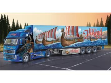"Italeri 3867 Volvo FH16 Globetrotter XL with ""Viking"" Reefer Trailer 1:24"