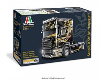 "Italeri 3883 Scania R730 V8 Topline ""Imperial"", Massstab 1:24"