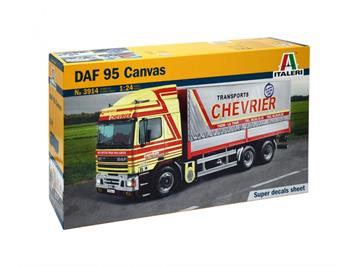 Italeri 3914 DAF 95 Canvas, 1:24