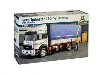 Italeri 3939 IVECO Turbostar 190.42 Canvas Truck, 1:24