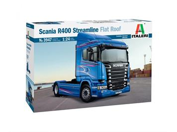 Italeri 3947 Scania R400 Streamline (Flat Roof), 1:24