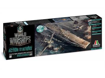 Italeri 46503 World of Warships USA USS Essex 1:700