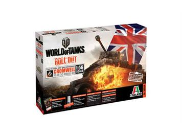 Italeri 56504 World of Tanks - Cromwell 1:56