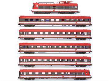 Jägerndorfer 74212 ÖBB BR 4010.024 Transalpin 6tlg rot/weiss