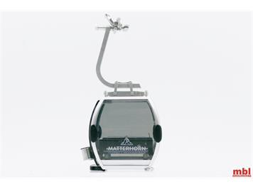 """Jägerndorfer 84170 Gondel Omega IV """"Matterhorn Zermatt"""" Bergbahn, Massstab 1:32"""