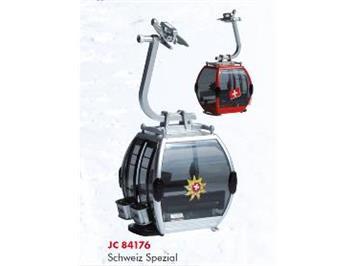 "Jägerndorfer 84176 Omega IV Gondel ""Schweiz Spezial"" in rot 1:32"