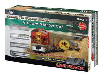 Kato 106-0018 Start-Set Santa Fe Super Chief N