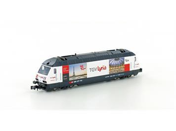 "KATO 137120 Elektrolok SBB Re 460 ""TGV Lyria"" N"