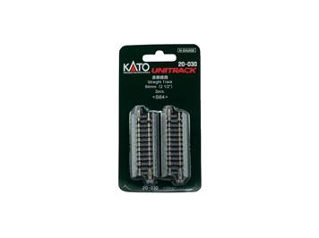 Kato 20-030 (78005) Gleis ger. 64 mm (2 Stk.)