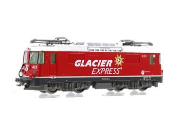 """Kato 7074053 RhB Ge 4/4 II 623 Bonaduz """"Glacier Express"""""""
