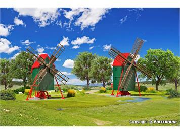 Kibri 37156 Windmühle, 2 Stück, N (1:160)