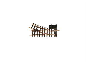 LGB 12050 elektrische Weiche rechts, R1, 30°
