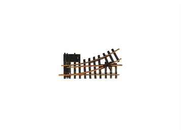 LGB 12150 elektrische Weiche links, R1, 30°